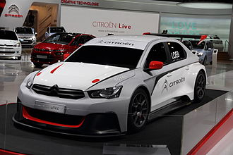 Citroën World Touring Car Team - Citroën-Total C-Elysée WTCC 2014 showed in Frankfurt in September 2013.