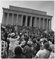 Civil Rights March on Washington, D.C. (Marchers at the Lincoln Memorial.) - NARA - 542054.tif