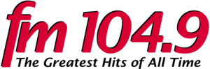 CKKS-FM - Logo used as FM 104.9, from 2008-2009.