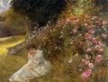 Clara von Rappard - Miss Hardy auf der Rosenterrasse im Rugen, 1883.png