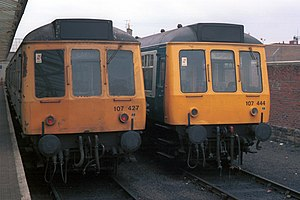 Class 107 in Largs (April 1984).jpg