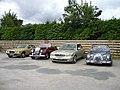 Classic cars, Charlestown - geograph.org.uk - 1516161.jpg