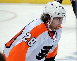 Claude Giroux Canadian ice hockey player