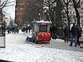 Clearing the snow on Donegall Square North, Belfast - geograph.org.uk - 1650068.jpg