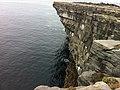 Cliff edge at Black Fort (6030575221).jpg