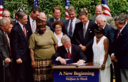 Personal Responsibility and Work Opportunity Act - Wikipedia