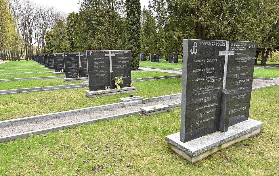 Cmentarz Powstańców Warszawy 2017