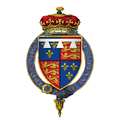 Coat of Arms of Henry of Monmouth, Prince of Wales, KG.png
