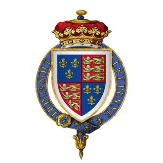 Buckingham's rebellion - Image: Coat of Arms of Sir Henry Stafford, 2nd Duke of Buckingham, KG