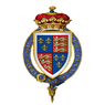 Coat of Arms of Sir Henry Stafford, 2nd Duke of Buckingham, KG.png