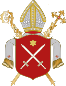 Coat of arms of Diocese of Essen.png