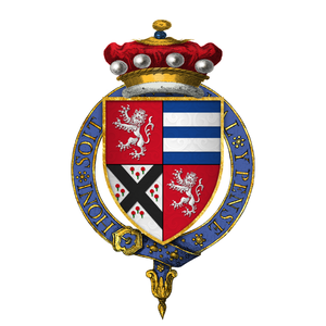 Henry Marney, 1st Baron Marney - Arms of Sir Henry Marney, 1st Baron Marney, KG