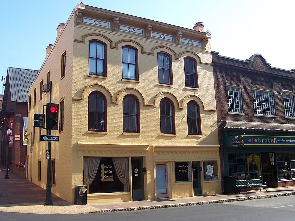 Coffee on the Corner building, Staunton, Virginia