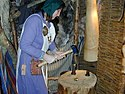 Coin making at Jorvik Viking Centre.jpg