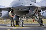 Col. Kerry M. Gentry, commander of the 177th Fighter Wing, arrives at Operation Snowbird 140304-Z-IM486-031.jpg