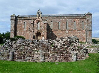 Coldingham - Image: Coldingham Parish Church