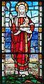 Coleraine St Patrick's Church Window W05 Second World War Memorial Detail Christ as Good Shepherd 2014 09 13.jpg