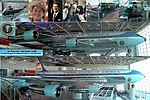 Collage of the Air Force One Pavillion at the Ronald Reagan Presidential Library.jpg