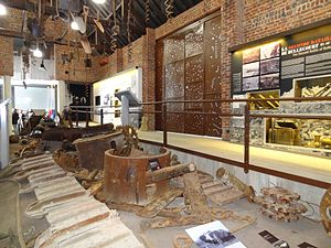 Bullecourt 1917, Jean and Denise Letaille museum - Exhibition space in April 2012