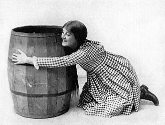 Patricia Collinge - Patricia Collinge in the Broadway production of Pollyanna (1916)