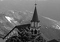 Colonia Tovar en blanco y negro.JPG