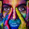 Colorful face painting, 2696947.jpg