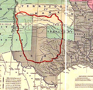 History of New Mexico - Comancheria prior to 1850.