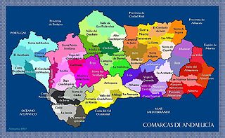 Comarcas of Andalusia Territorial subdivision of Andalusia, Spain