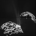 Comet 67P on 26 September 2014 NavCam montage.jpg