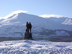 Commando Memorial Spean Bridge - geograph.org.uk - 1687249.jpg