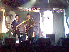 Franz Ferdinand in Lisbon, Portugal in September 2005