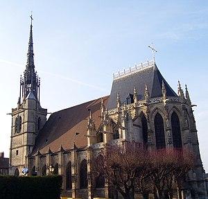 Conches-en-Ouche - Image: Conches en Ouche Eglise Sainte Foy