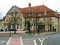 Congress Union Celle, Thaerplatz 1, 29221 Celle, Blick von der Trift über den Thaerplatz auf den Altbau mit Thaers Wirtshaus.jpg