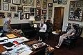 Congressman George Miller meets with Courtney von Savoye and her family (7410204686).jpg