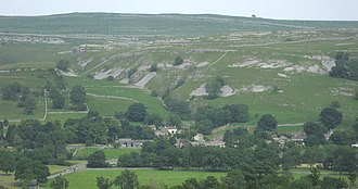 Conistone - Image: Conistone & Dib, from west