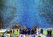 Inter won the Coppa Italia 2005, beating A.S. Roma.
