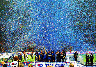 Inter Milan - Inter won the Coppa Italia 2005, beating A.S. Roma