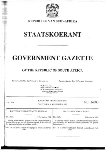 File:Constitution Second Amendment Act 1992.djvu