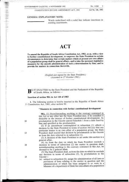 File:Constitution Second Amendment Act 1992.djvu