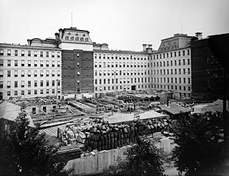 Eisenhower Executive Office Building - Construction of the State, War, and Navy Building (undated)