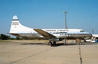 Sierra Pacific Airlines - Convair CV-580 at Marana/Pinal, 1987