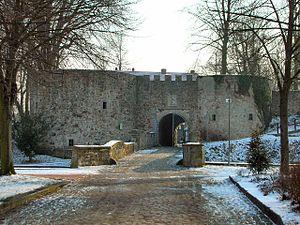 Coppenbrügge - Remains of the Castle.