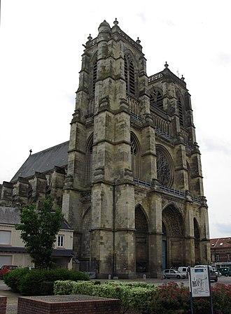 Corbie Abbey - Abbey church of Corbie.
