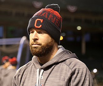 Corey Kluber - Kluber with the Cleveland Indians