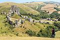 Corfe castle 01 (14722092583).jpg