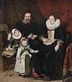 Cornelis de Vos - Zelfportret van de kunstenaar en zijn familie (1621) - KMSK Brussel 25-02-2011 12-52-32.jpg