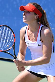 Alizé Cornet French female tennis player