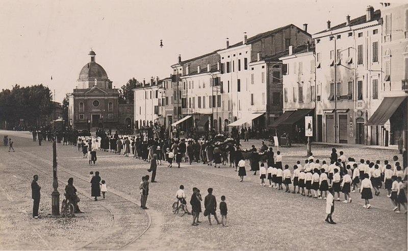 FileCorteo Funebre A Mirandola 1934 3