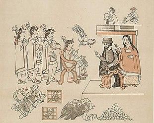 L'incontro tra Hernán Cortés e l'imperatore Montezuma
