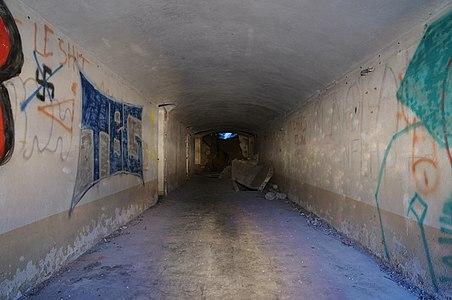 Inside the Fort du Salbert